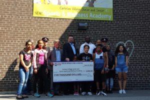 Delta Bingo & Gaming St.Clair donates $5000 to Carleton Village Nutrition Program.
