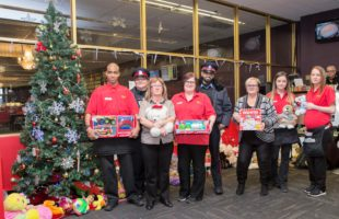 DELTA DOWNSVIEW DONATES $600 WORTH OF TOYS FOR THE COMMUNITY