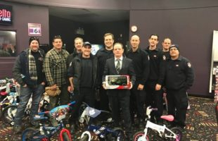 Delta and Oakville Fire Fighters Team up
