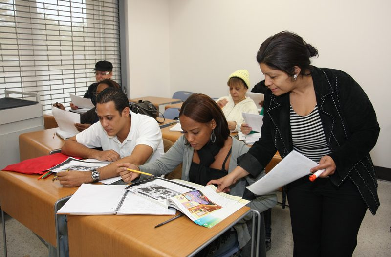 TUTORING ADULTS TO IMPROVE THEIR LIVES