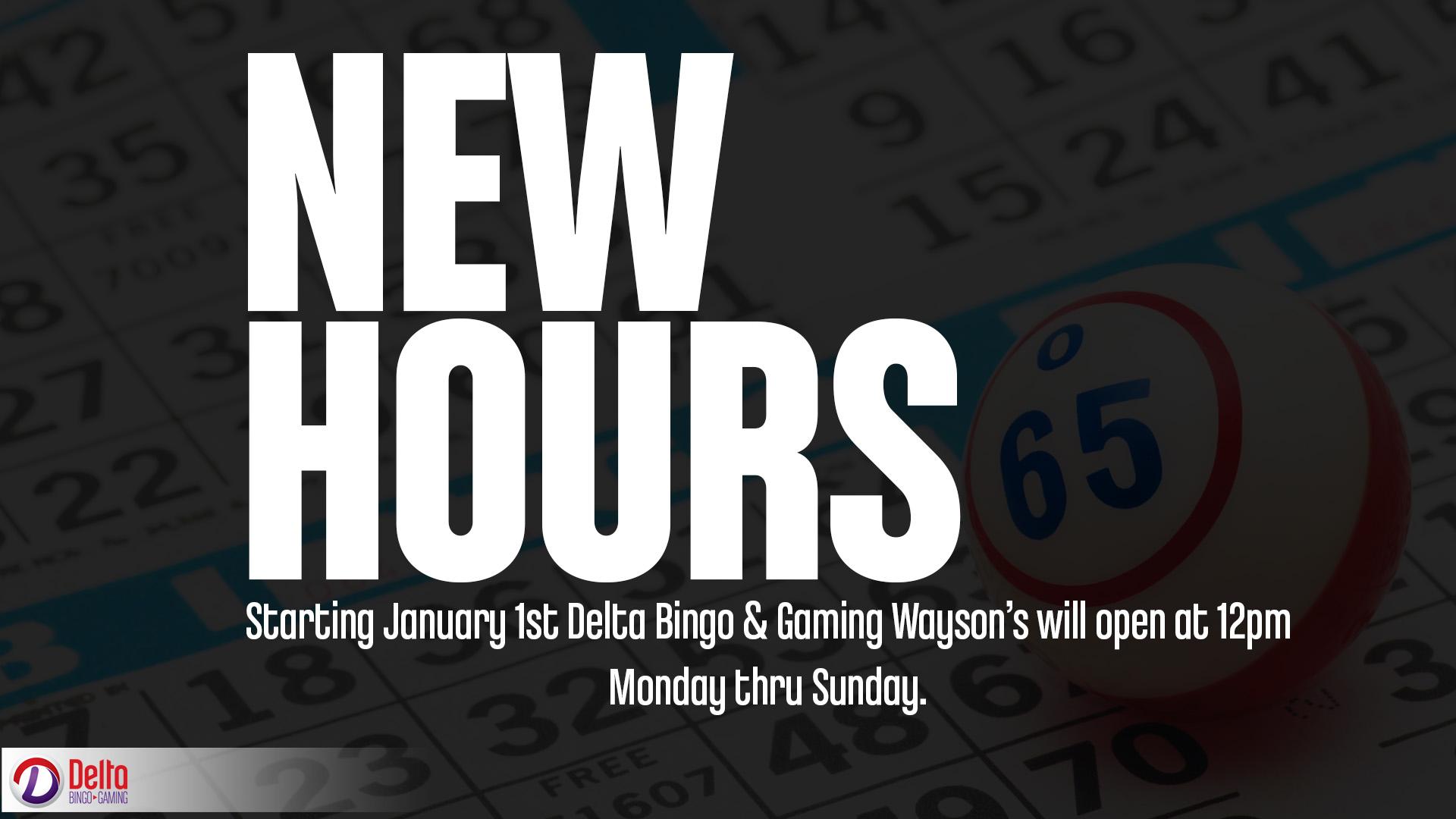 Delta Bingo Hours