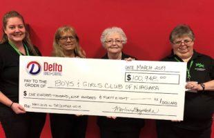 BOYS AND GIRLS CLUB RECEIVES $100,000