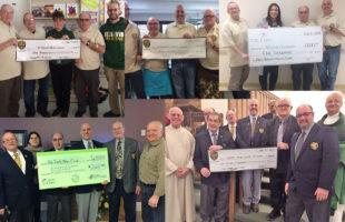 Holy Trinity Men's Club donates $10,000 to local charities