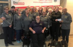Delta Brampton and The Lions Foundation of Canada Dog Guides Change Lives